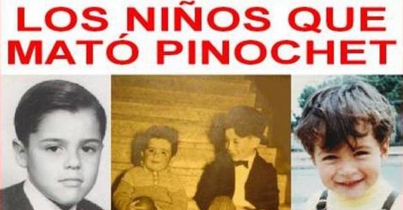 Niños que mató Pinochett