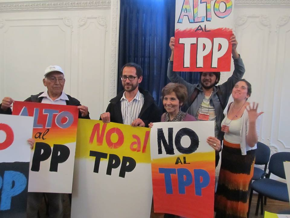 TPP PROTESTAS
