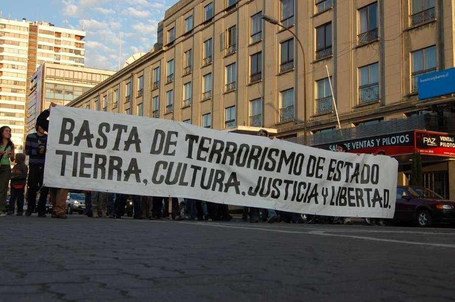 Basta de terrorismo de Estado