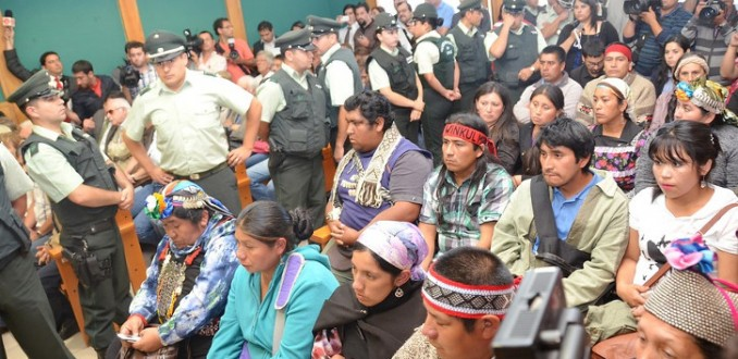 Mapuches-criminalización