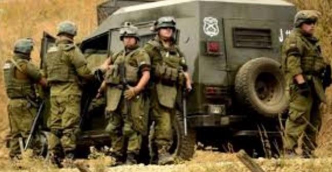 Image result for Denuncian militarización y hostigamiento policial en territorio Mapuche de Nalcahue sobre fundo forestal recuperado