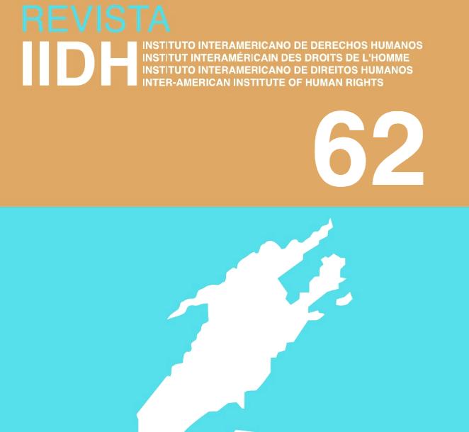 Revista IIDH Nro. 62 (Portada)