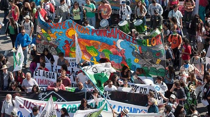 protesta forestales