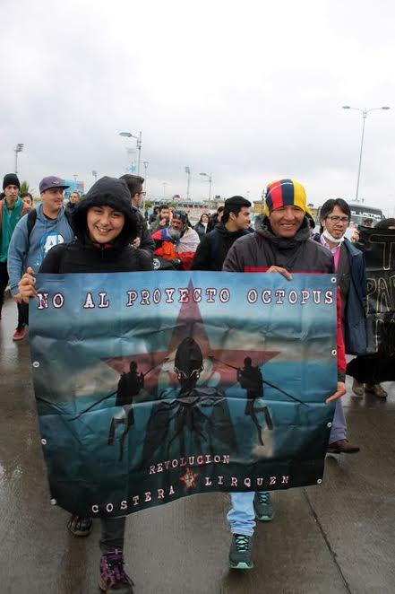 Marcha en rechazo a GNL Talcahuano marca sentir social ad portas de