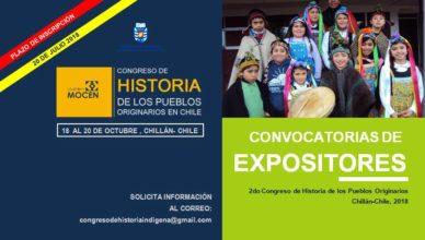 Segundo Congreso Historia Indígena Chillán Mocen