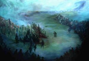 Imágen: Pintura Eduardo Rapimán