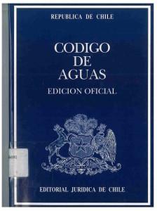 CODIGO DE AGUAS
