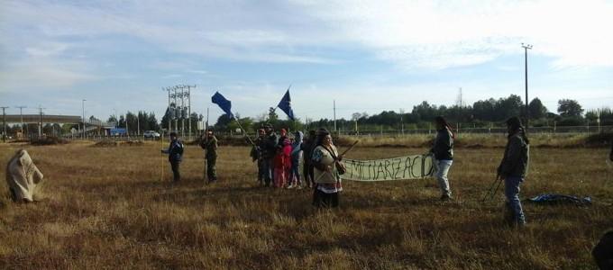 Movilización en Pailahueque